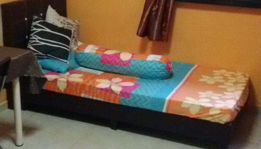 Photo of Mrs Suresh's room