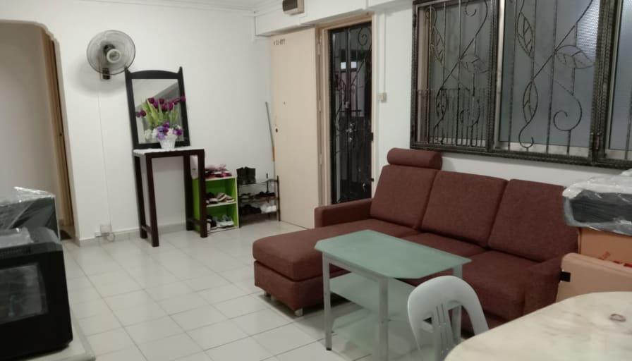 Photo of Mark John's room