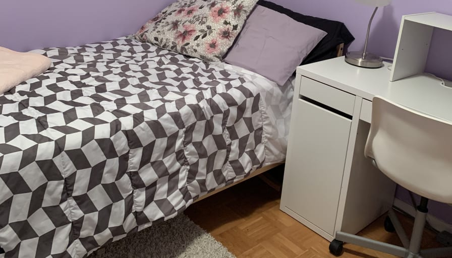 Photo of Angela's room