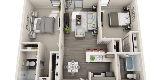 Photo of Jordan's room