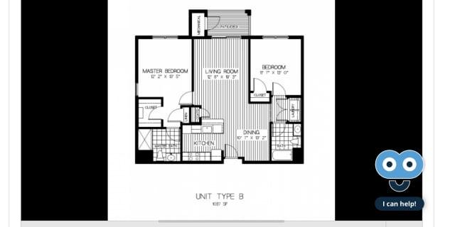Photo of Beatriz's room