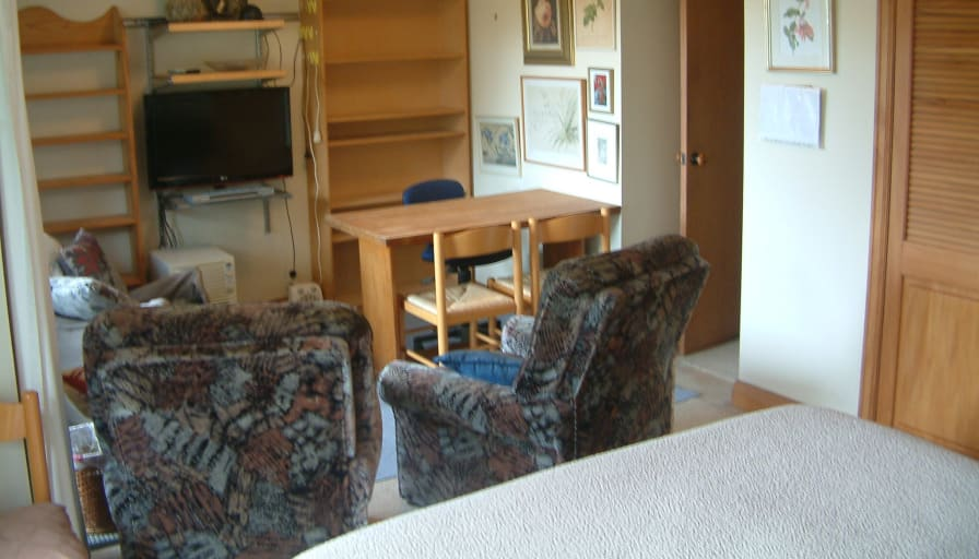 Photo of Peter Mundell's room