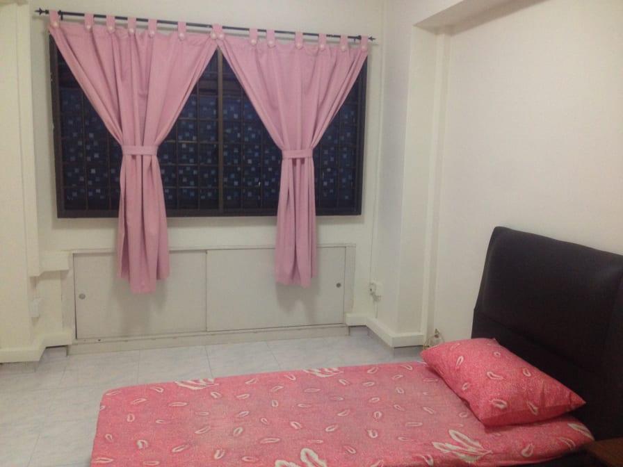 Photo of Chew Yen's room