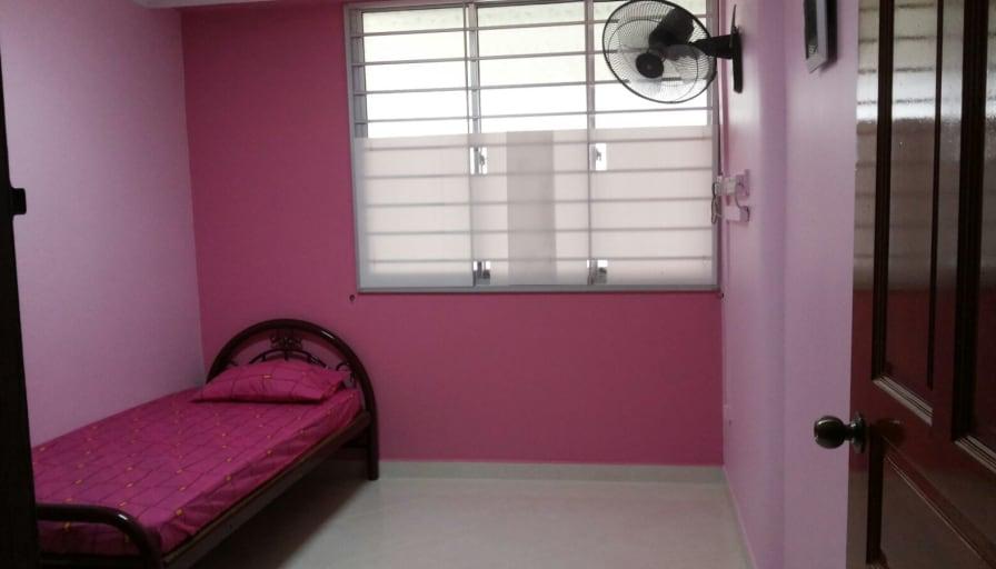 Photo of Habeeb's room