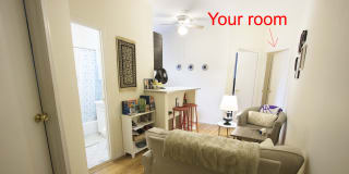 Photo of Claire's room