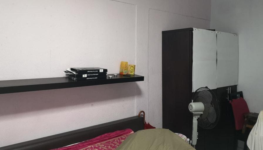 Photo of Geoffrey's room