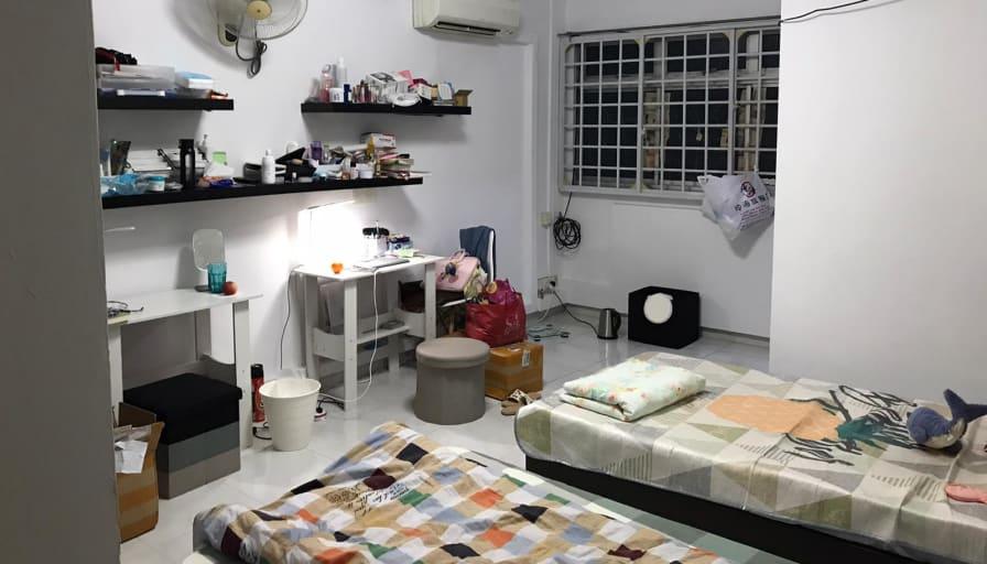 Photo of Joshua's room