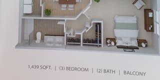 Photo of Shantana's room