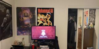 Photo of Isaiah's room