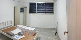 Photo of Patrick's room