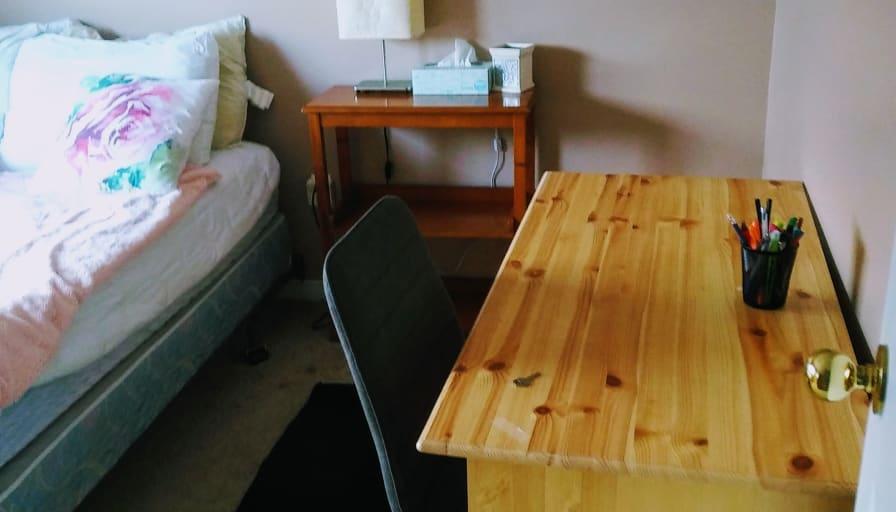 Photo of Zabrina's room