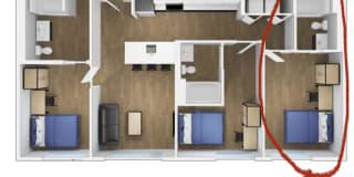 Photo of Alexandria's room