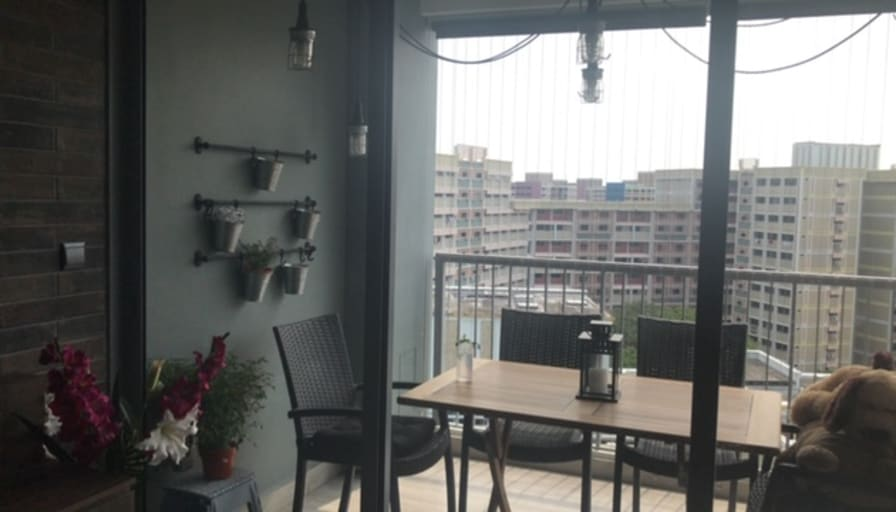 Photo of Sumaiya's room