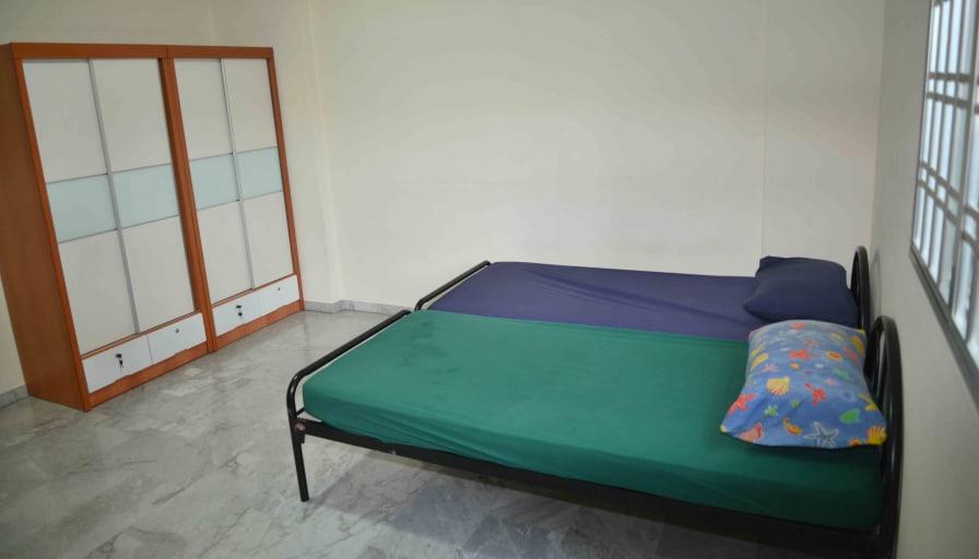 Photo of Benson's room