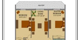 Photo of Merlin's room