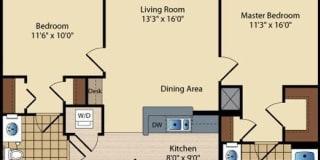 Photo of Bodie's room