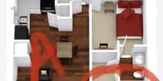 Photo of Bailey's room
