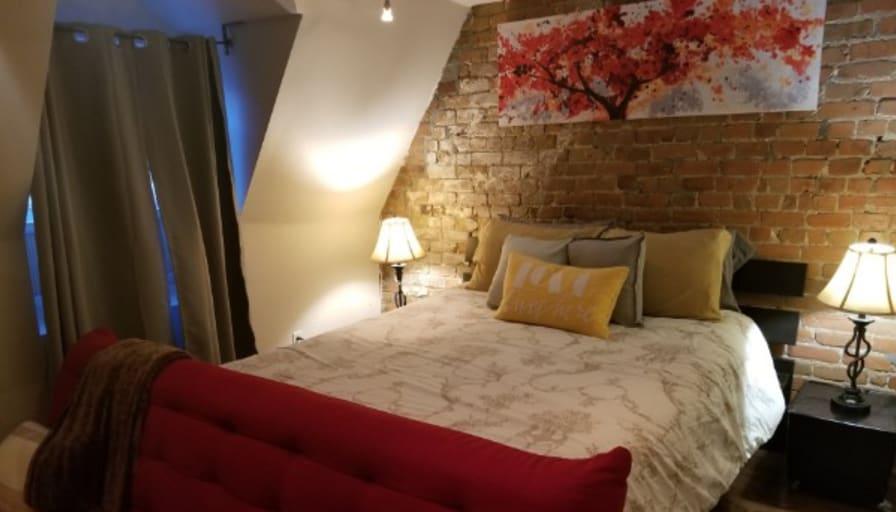 Photo of Pauley's room