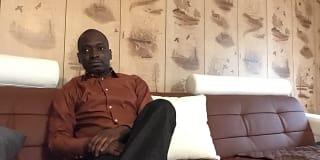 Photo of Oumar's room