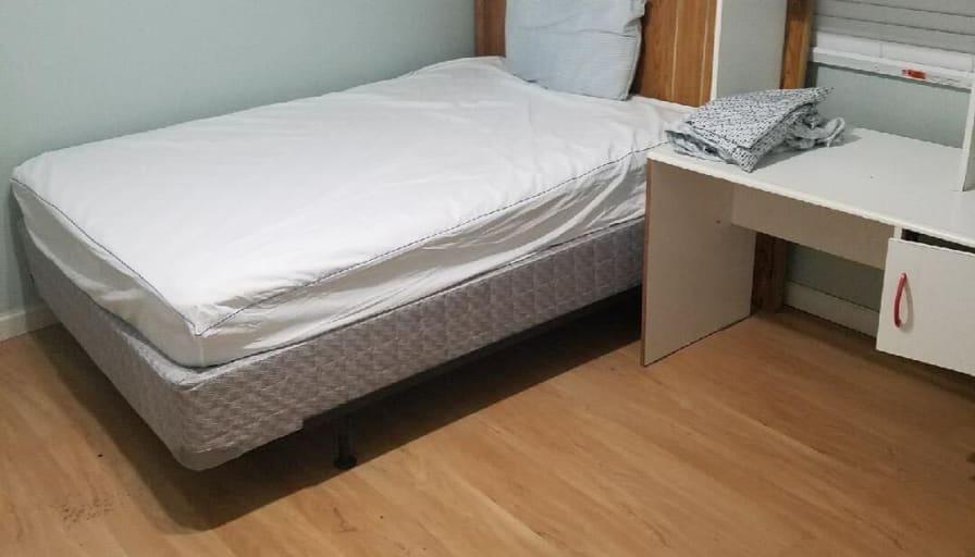 Photo of Laszlo's room