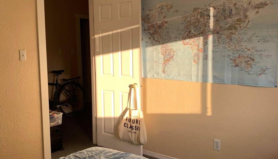 Photo of Alexander's room