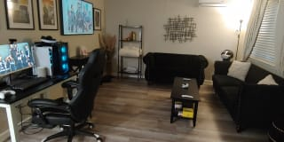 Photo of Ibrahim's room