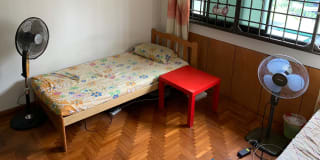 Photo of Boon Ming's room