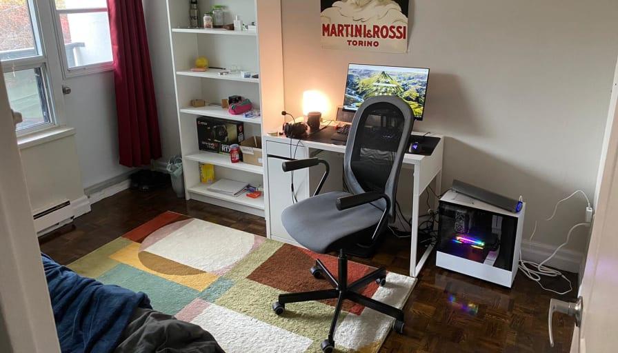 Photo of Tiago's room