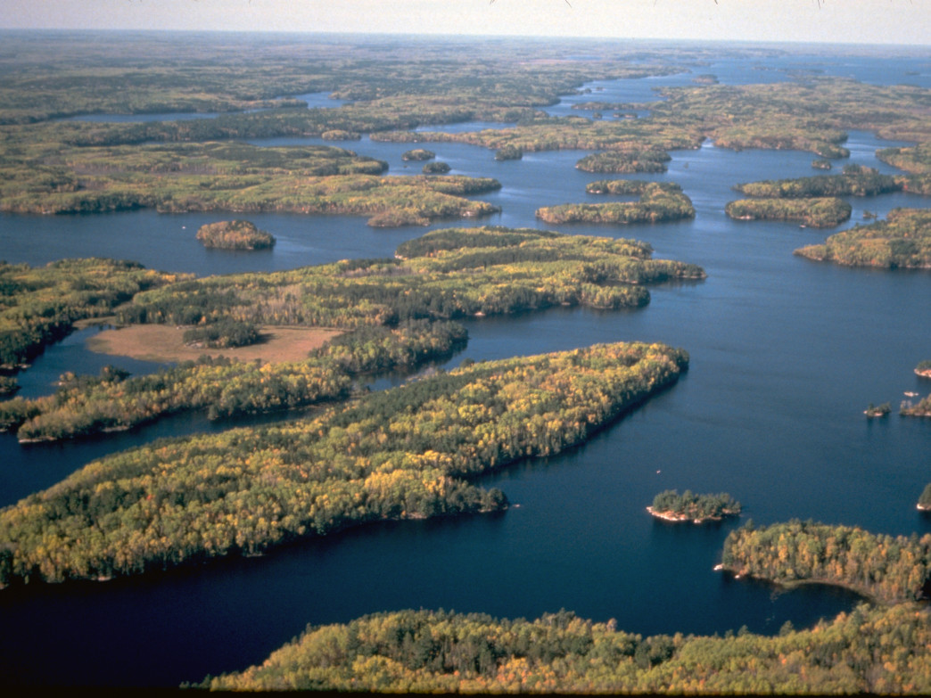 Voyageurs National Park.