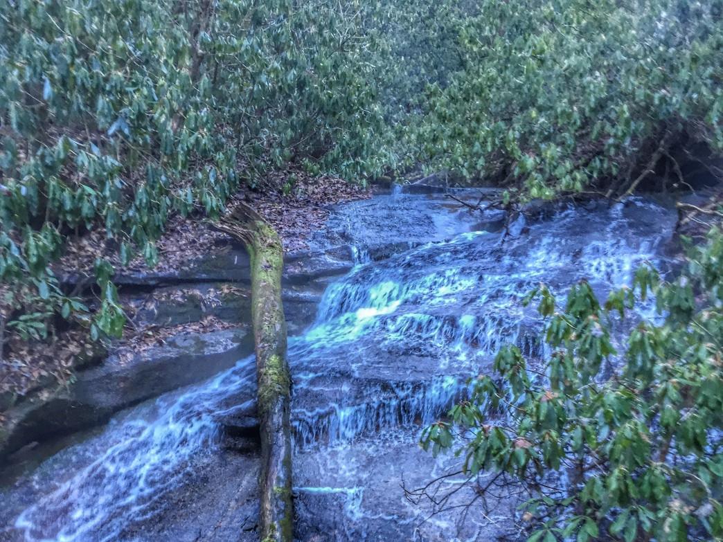 Greasy Creek Falls.