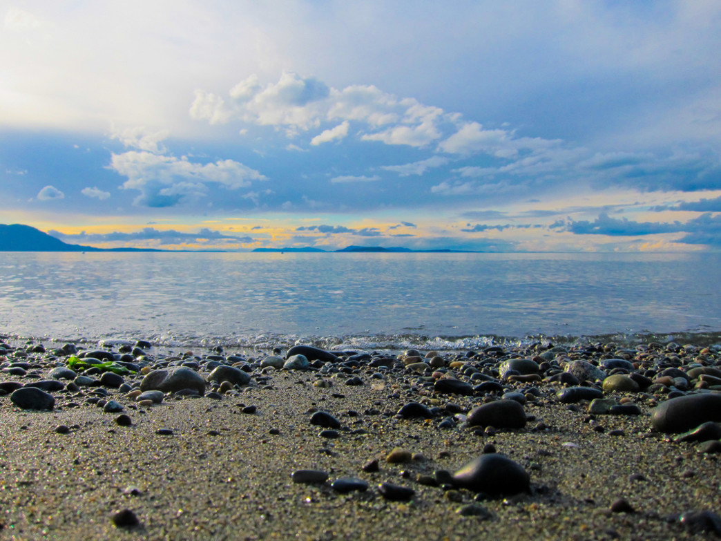 The view from Lummi Island