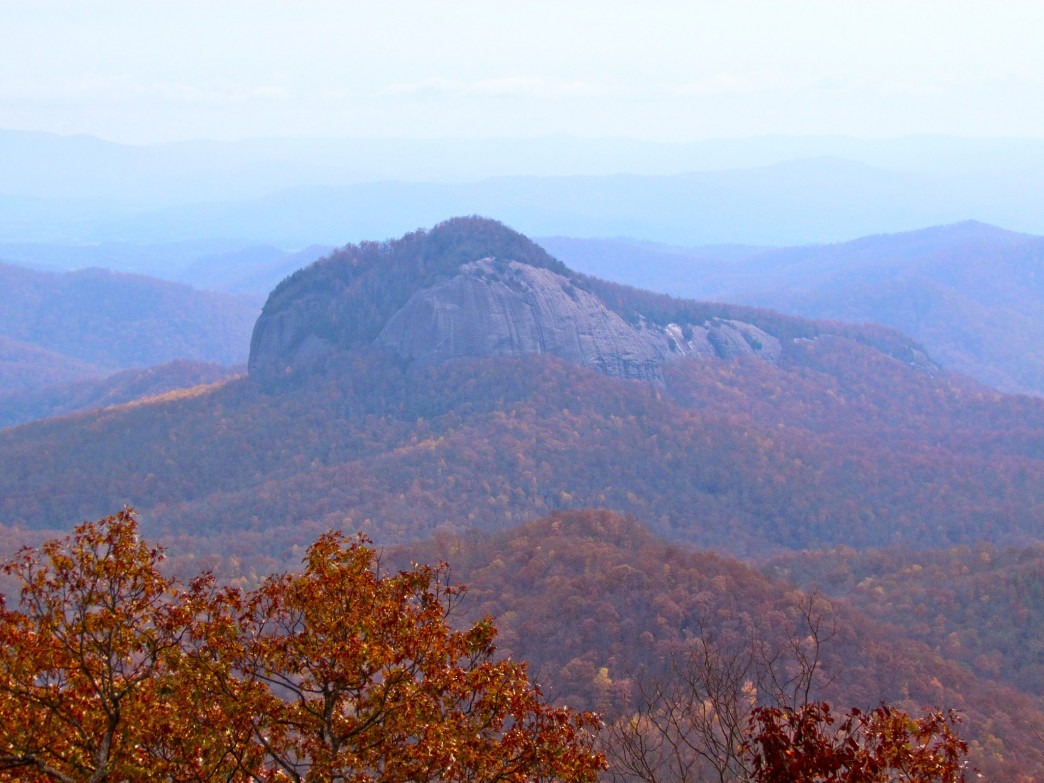 Looking Glass Rock in autumn.