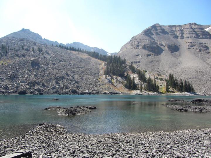 Blue Miner Lake