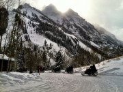 Image for Maroon Creek Road Cross-Country Skiing