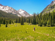 Image for Conundrum Hot Springs Backpacking