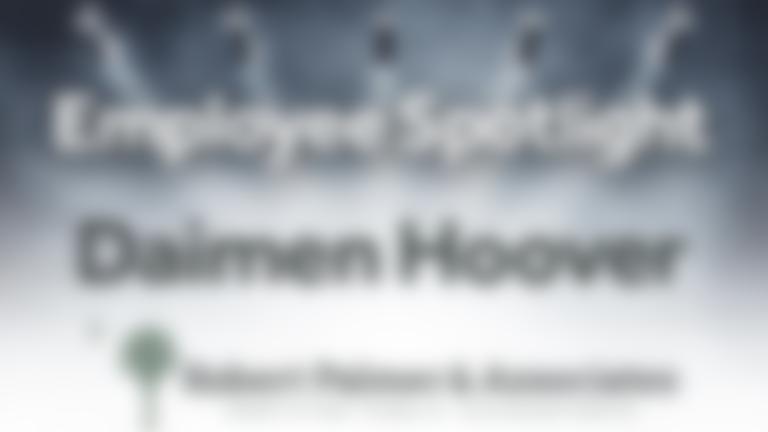 Employee Spotlight Daimen Hoover