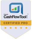 Logo for Finagraph CashFlowTool Badge