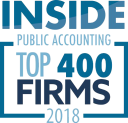 Logo for Top 400 Firms 2018