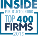 Logo for Top 400 Firms 2019