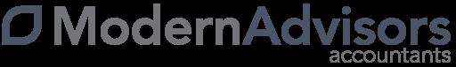 Logo for Modern Advisors Accountants.