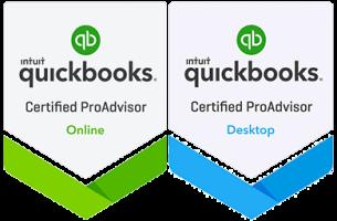 QuickBooks Online, Desktop Badges