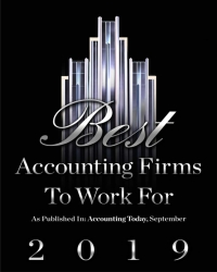 AccountingToday 2019 Best Accounting Firms To Work For