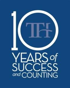 TTH 10 years of Success logo