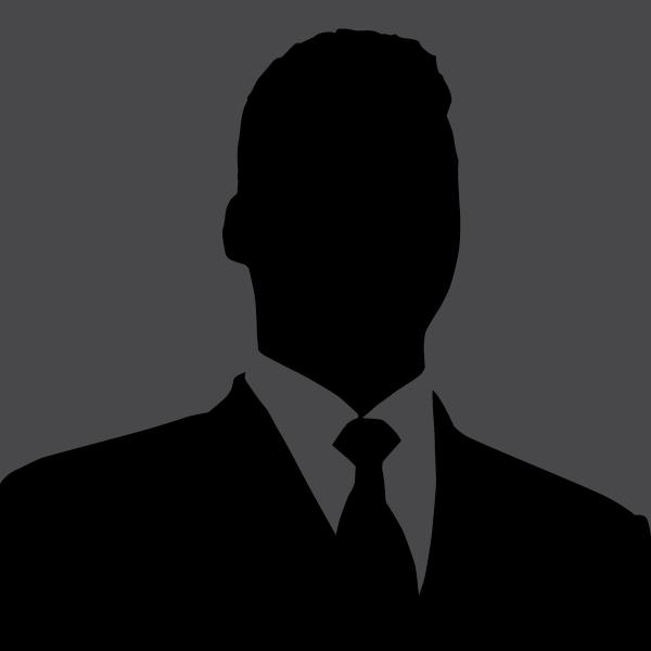 Male staff silhouette