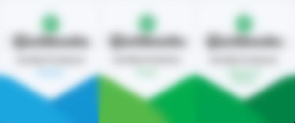 QBO Desktop, Online, Advanced Online Badges