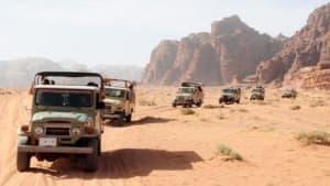 Jeepsafari i Wadi rum