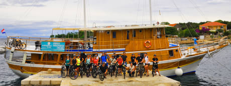 Båtresa i Kroatien, norra Dalmatien med tillval cykling