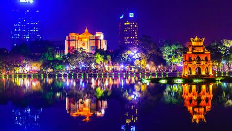 Cykelresa i Vietnam 55+