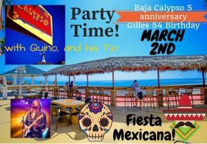 Party Time at Baja Calypso