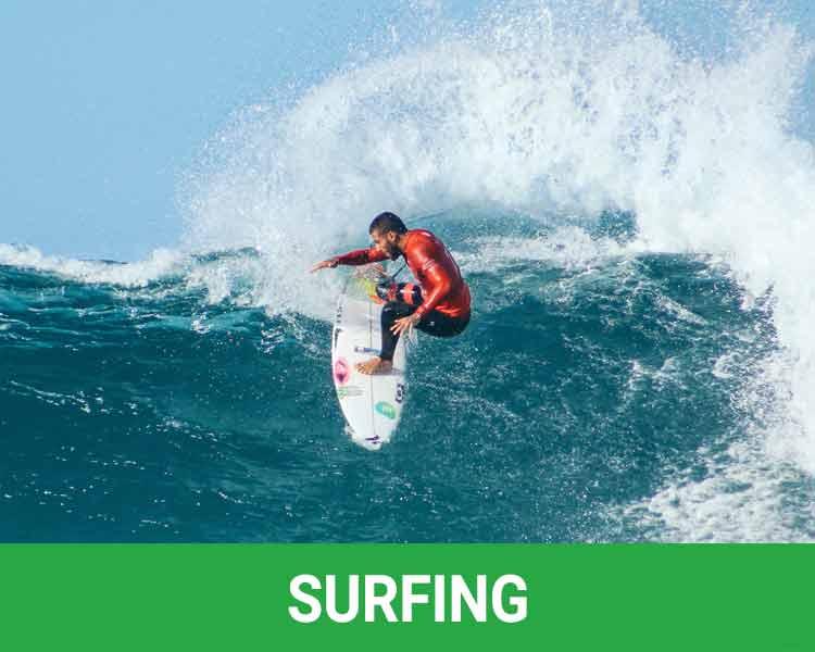 Surfing Rosarito Beach